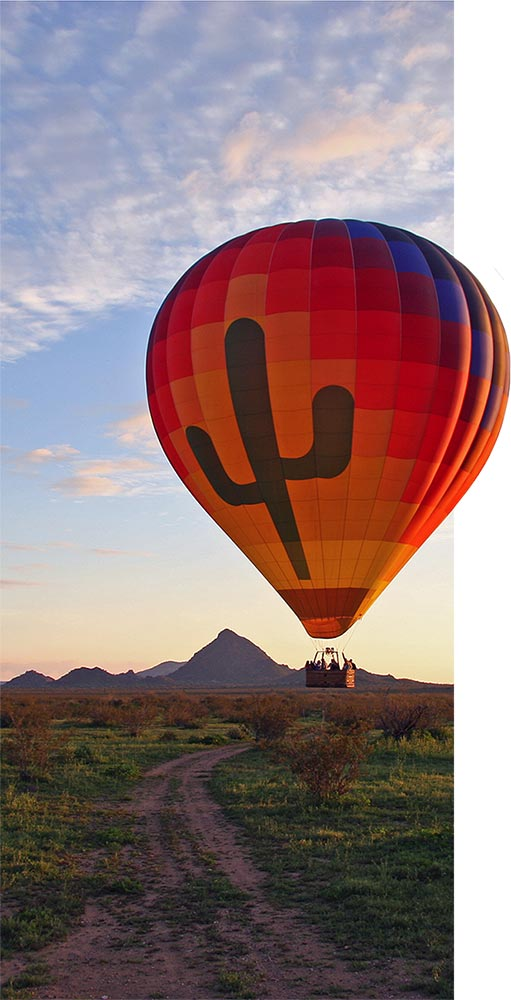 Hot Air Expeditions - Balloon Rides in Arizona